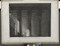 Denderah (Dandara) (Tentyris). Vue perspective de l'intérieur du portique du Grand Temple (NYPL b14212718-1268125).tiff