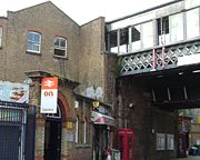 Deptford Station Exterior 2