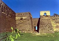 A Sassanid fortress in Derbent, Russia (the Caspian Gates).