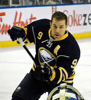 Derek Roy - Roy with the Sabres in 2012.