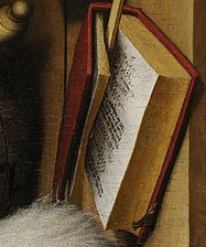 Detail - Arithmetic Book - from The Ambassadors - Holbein.jpg