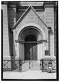 Detail view of Filbert Street entrance - Masonic Temple, 1 North Broad Street, Philadelphia, Philadelphia County, PA HABS PA,51-PHILA,742-6.tif