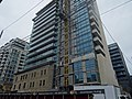 Details of the construction of a new highrise condo within the facade of the old National Hotel, 2015 07 17 (15).JPG - panoramio.jpg