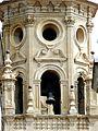 Detalle de una de las torres de la Concatedral de Santa María de la Redonda, Logroño, La Rioja.JPG