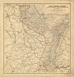 Deutsch-französische Grenzländer, mit genauer Einzeichnung der französischen Befestigungs-Anlagen.jpg