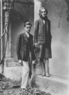Diana Mitford and Bryan Guinness on their honeymoon in Taormina, Italy, 1929.png