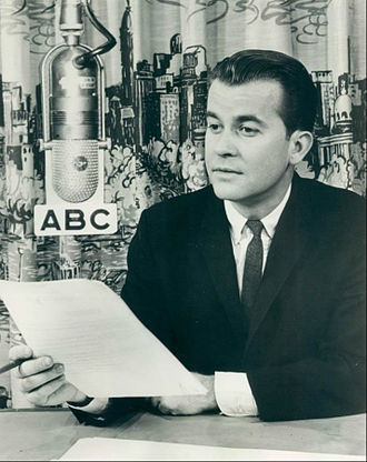 "Dick Clark - Photo of Clark in 1963. His ABC radio show was called ""Dick Clark Reports""."