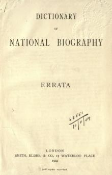 Dictionary of National Biography. Errata (1904).djvu