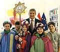 Die Sternsinger besuchen Aussenminister Michael Spindelegger (8344729903).jpg
