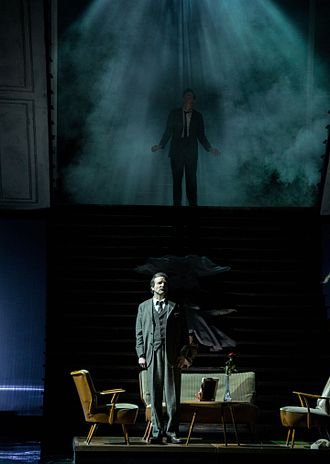 Die tote Stadt - Scene at the Graz Opera in 2015