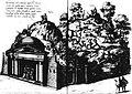 Diederich Graminaeus (1550-1610). Beschreibung derer Fürstlicher Güligscher ec. Hochzeit (Johann Wilhelm von Jülich-Kleve-Berg ∞ Jakobe von Baden-Baden, Hochzeit in Düsseldorf im Jahre 1585), Köln 1587 Nr. 35 (Theaterberg mit Amphion).JPG