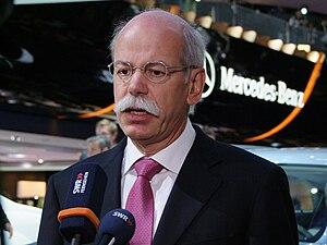 Dieter Zetsche - Dieter Zetsche at IAA 2009