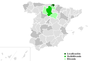 Roman Catholic Diocese of Bilbao - Image: Diocesisdebilbao