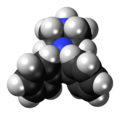 Diphenylmethylpiperazine 3D spacefill.png