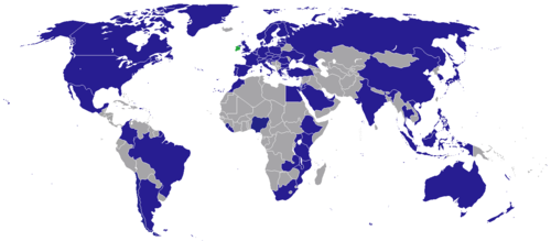 List of diplomatic missions of the republic of ireland wikipedia countries with irish diplomatic missions gumiabroncs Image collections