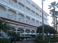 Disney's Grand Floridian Resort and Spa - The side of the main building, looking toward Gasparilla's Grill & Games.jpg