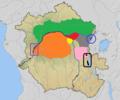 Distribution Piliocolobus species.png