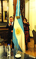 Dmitry Medvedev in Argentina 15 April 2010-20.jpeg