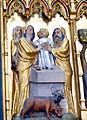 Doberan Münster - Kreuzaltar Marienseite 6 Darbringung Samuel.jpg