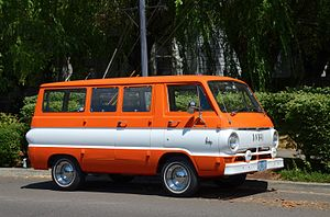 Dodge A100 - Image: Dodge A100 van in orange (2015)