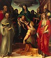 Domenico Beccafumi - Mystical Marriage of St Catherine - WGA1542.jpg