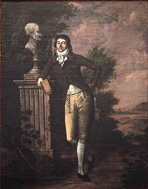 Dominique Joseph Garat - Portrait of Garat  (Musée de la Révolution française)