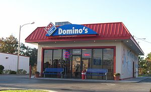English: Dominos Pizza in Spring Hill Florida