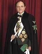 Don Carlos Gereda de Borbon, Marques de Almazan, 49th Prince Grand Master.