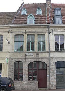 Douai - Maison natale de Marceline Desbordes-Valmore - façade