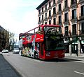Double decker bus Volvo in Madrid.JPG