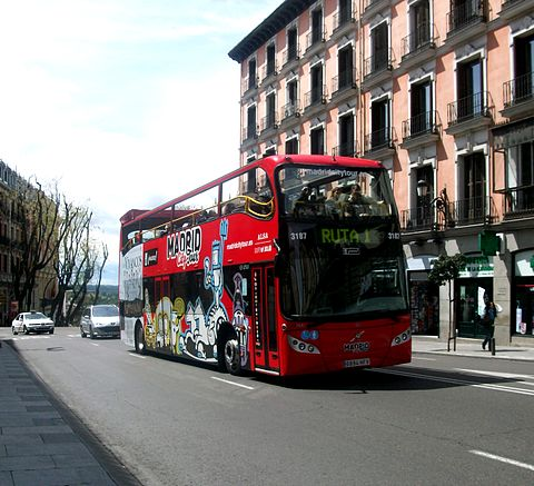 Review of Madrid's city sightseeing bus