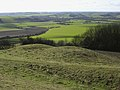 Double round barrow on Old Winchester Hill, looking down into the Meon Valley - geograph.org.uk - 25001.jpg