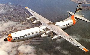 Douglas C-133A Cargomaster in flight.jpg