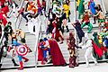 Dragon Con 2013 - JLA vs Avengers Shoot (9668252307).jpg