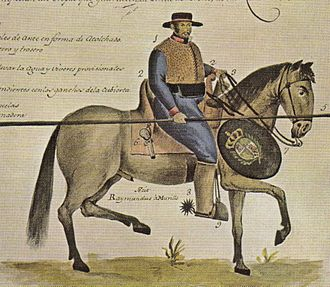 Cowboy - 18th century soldado de cuera in colonial Mexico