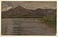 Drawing, Mt. Katahdin, from Lake Katahdin, 1877 (CH 18201441).jpg