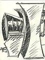 Drawing by Seymour Lipton (4011589767).jpg