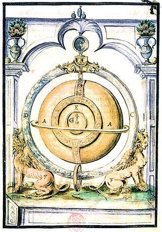 "Cornelis Drebbel - ""Perpetuum mobile"" clock by Drebbel"