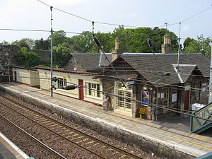 Drem railway station - Image: Drem(1)