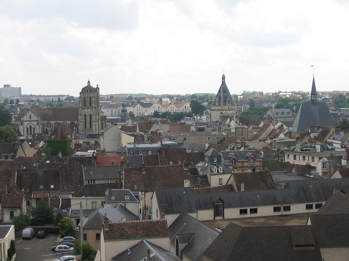Ville Saintes France
