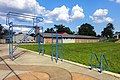 Druid Hill Park Memorial Pool diving board and lifeguard stands.jpg