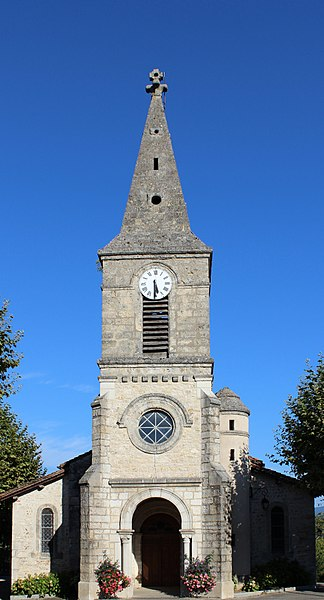 Église de Druillat (Ain).