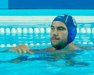 Duško Pijetlović Serbian water polo player