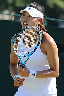 Duan Yingying Chinese tennis player