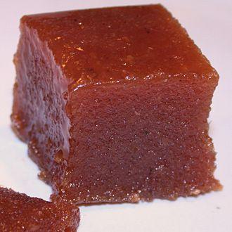 Quince cheese - Image: Dulce de membrillo