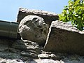 Dumbarton Rock, Carved face on Guard House - geograph.org.uk - 1380538.jpg