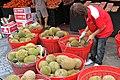 Durian at market in Singapore 02 - Dec 17, 2011.jpg