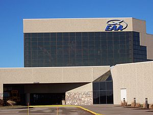 EAA Aviation Museum - Front Entrance