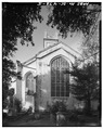 EAST (REAR) SIDE - Unitarian Church, 6 Archdale Street, Charleston, Charleston County, SC HABS SC,10-CHAR,197-5.tif