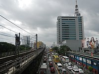 EDSA near GMA headquarters 2016jf.jpg